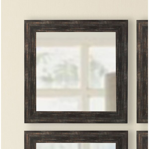 Square Wall Mirror (Set of 4) by Brayden Studio