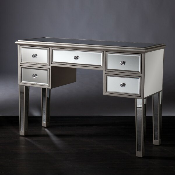 Luedtke Mirrored Console Table By Rosdorf Park