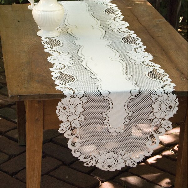 Vintage Rose Runner by Heritage Lace