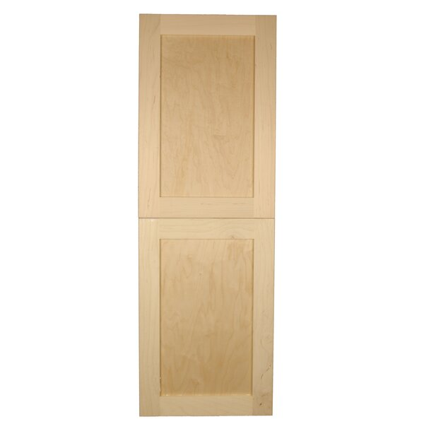15.5 W x 47 H Recessed Cabinet by WG Wood Products