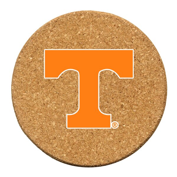 University of Tennessee Cork Collegiate Coaster Set (Set of 6) by Thirstystone