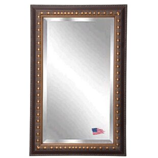 Darby Home Co Rectangle Traditional Wood Wall Mirror