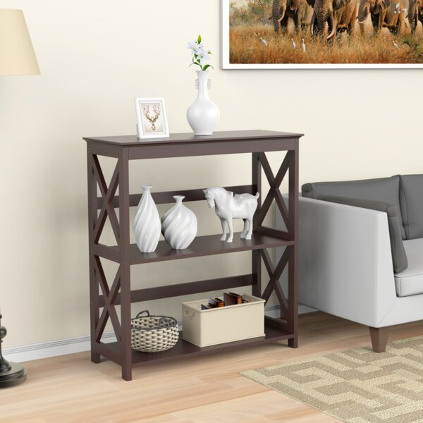 Goodin 3 Tier Etagere Bookcase by Gracie Oaks
