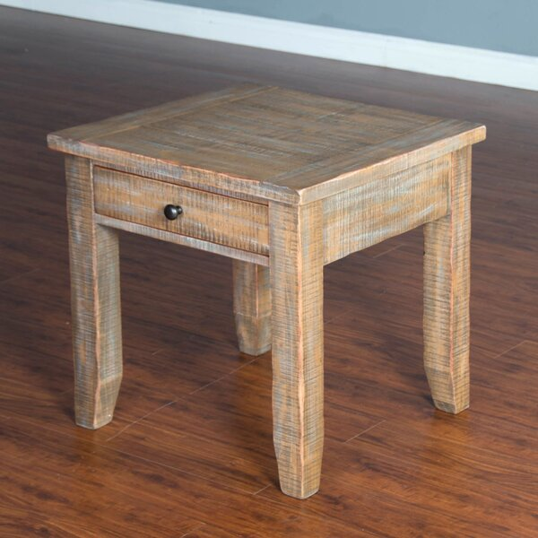 Hazeldell End Table by Breakwater Bay