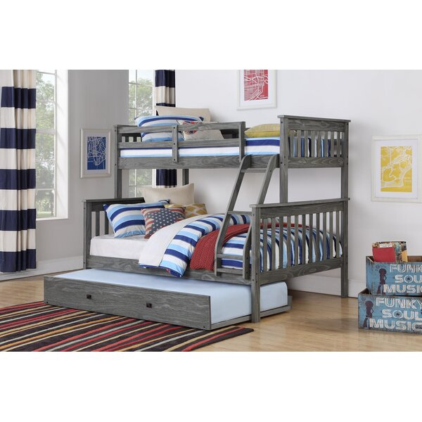 Dubbo Twin Over Full Bunk Bed with Trundle by Harriet Bee