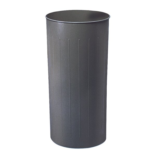 Steel 20 Gallon Trash Can by Safco Products Company