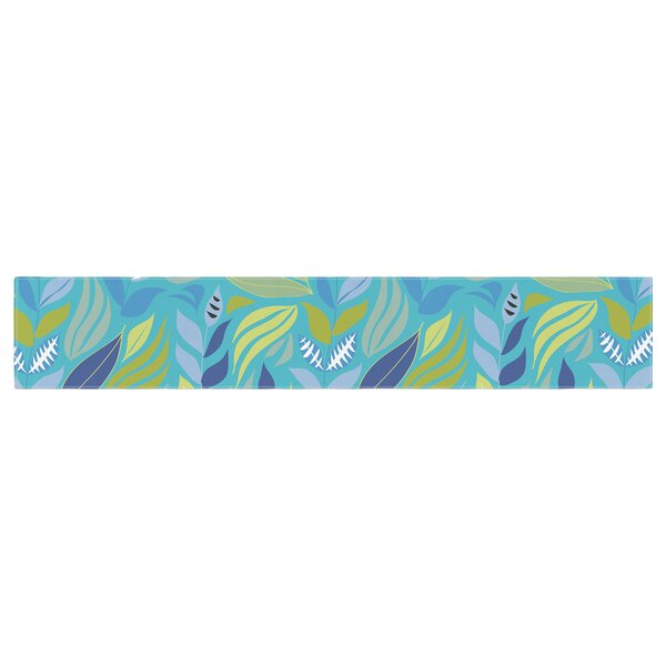 Michelle Drew Underwater Bouquet Table Runner by East Urban Home