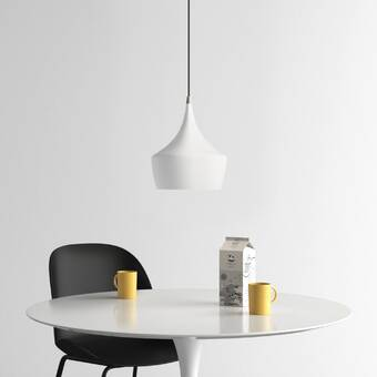 Evelin 1 Light Single Geometric Pendant Reviews Allmodern