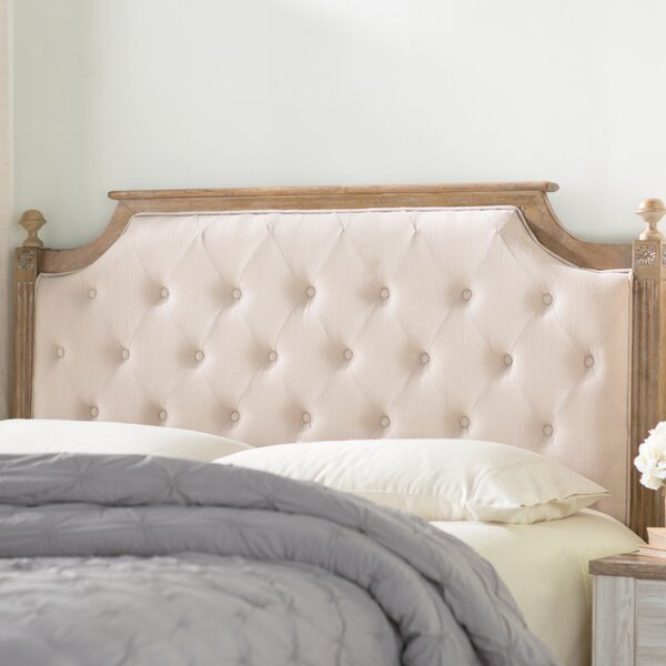 Parada Upholstered Panel Headboard by Lark Manor