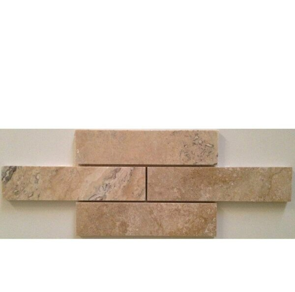 2 x 8 Travertine Mosaic Tile in Philadelphia by Ephesus Stones