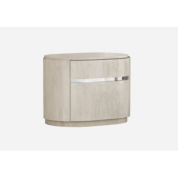 Gann 2 Drawer Nightstand by Orren Ellis