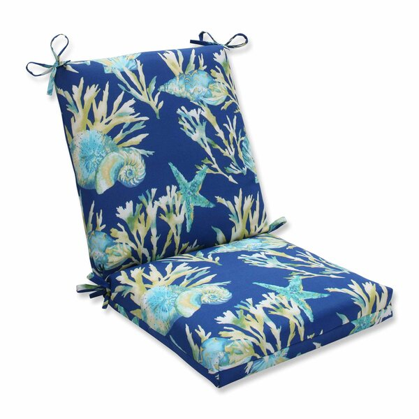 Daytrip Indoor/Outdoor Dining Chair Cushion by Pillow Perfect