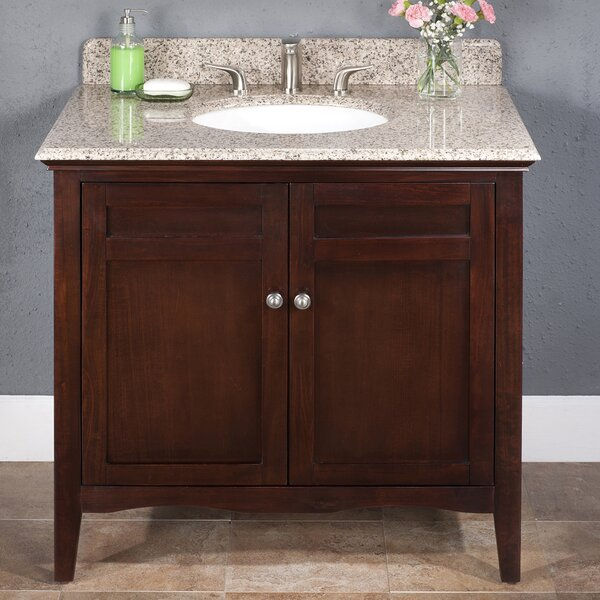 Ashford 36 Single Bathroom Vanity Set by Lanza