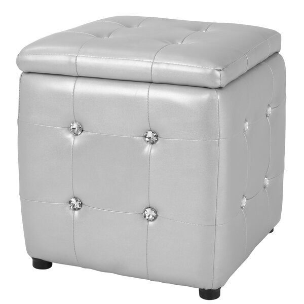 Olivianna Storage Ottoman By Latitude Run Spacial Price