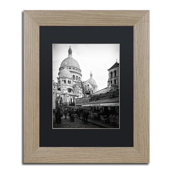 Sacre-Coeur de Montmartre by Philippe Hugonnard Framed Photographic Print by Trademark Fine Art