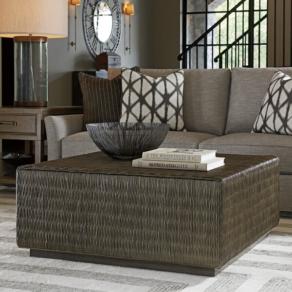 Cypress Point Solid Wood Block Coffee Table By Tommy Bahama Home