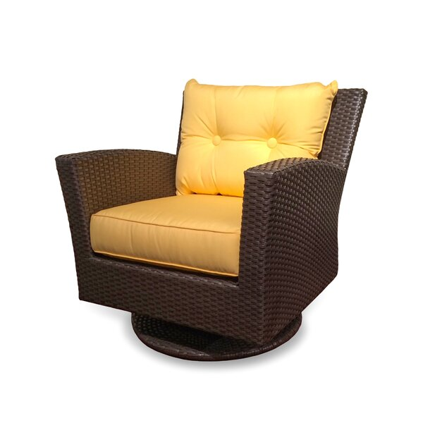 Sonoma Swivel Patio Chair with Cushion by ElanaMar Designs