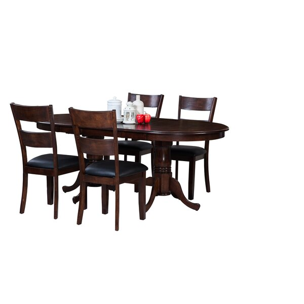 Doretha 5 Piece Breakfast Nook Dining Set by Darby Home Co