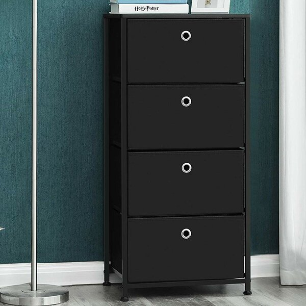 Shila 4 Drawer Chest by Ebern Designs