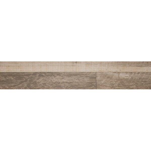 Sierra 9 x 48 Porcelain Wood Look/Field Tile in Brown by MSI