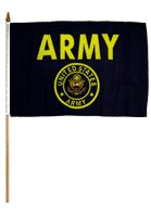 Army Flag Set (Set of 12) by Flags Importer