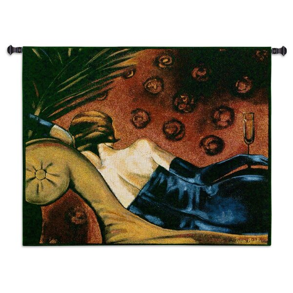 Classical Champagne Lounge by Tricia Biddle Tapestry by Fine Art Tapestries