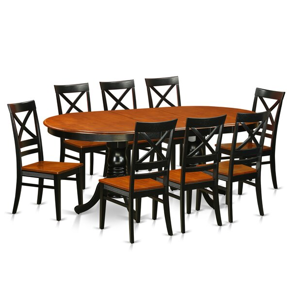 Germantown Butterfly Leaf Rubberwood Solid Wood Dining Set By Darby Home Co