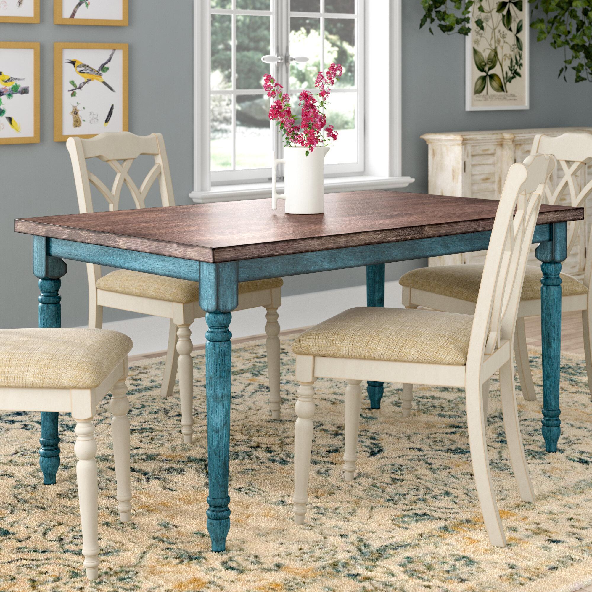 August grove scarlet dining table reviews wayfair