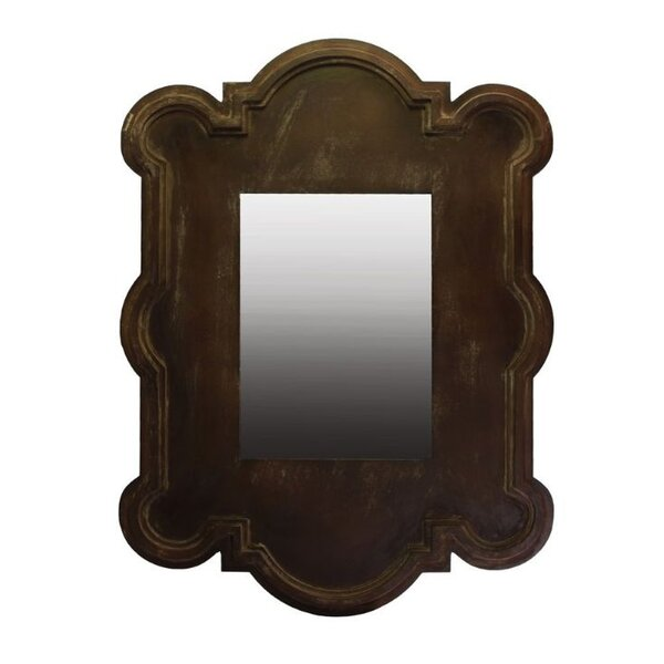 Kingsmill Magnificent Wooden Wall Mirror by Bloomsbury Market