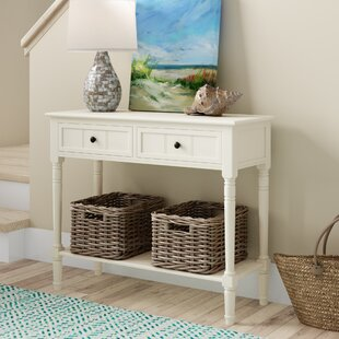 Regan 35.8 Solid Wood Console Table by Beachcrest Home