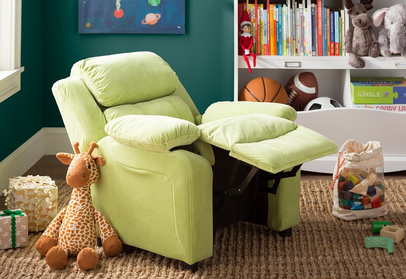 Kuna Kids Recliner with Storage Compartment