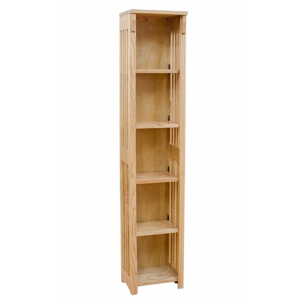 Somerton Mission Spindle Standard Bookcase By Loon Peak
