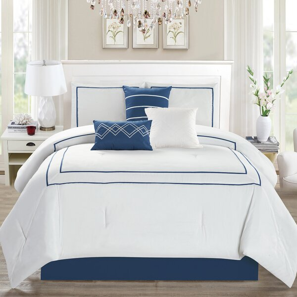 Bolt 7 Piece Comforter Set by Red Barrel Studio