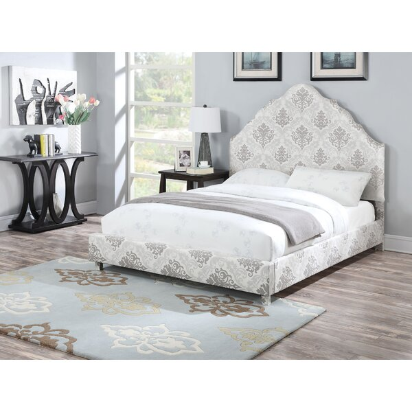Derbyshire Upholstery Standard Bed by House of Hampton
