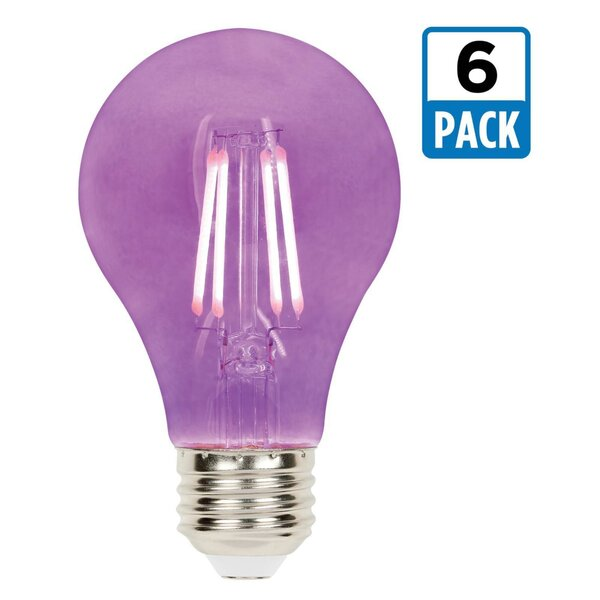 5W E26 Dimmable LED Edison Light Bulb (Set of 6) by Westinghouse Lighting