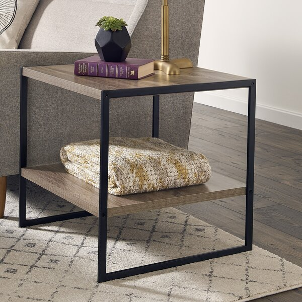 Almanzar End Table by Mercury Row