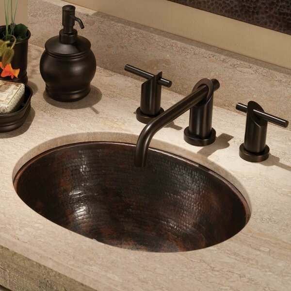 Cameo Metal Oval Undermount Bathroom Sink