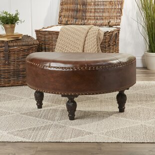 Order Stone Castle Half-Moon Ottoman By Astoria Grand