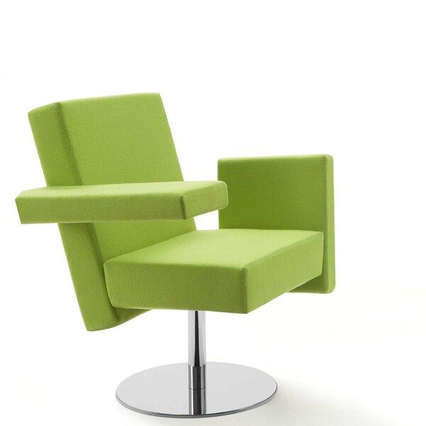 Meet Me Swivel Arm Guest Chair by Segis U.S.A