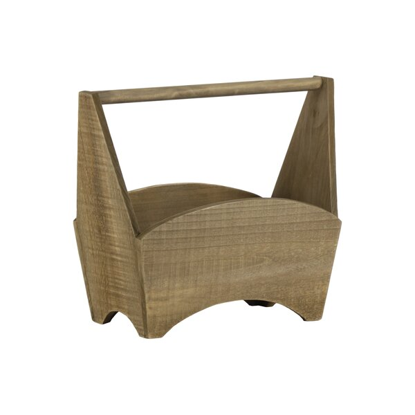 Yost Wood Planter Basket by August Grove