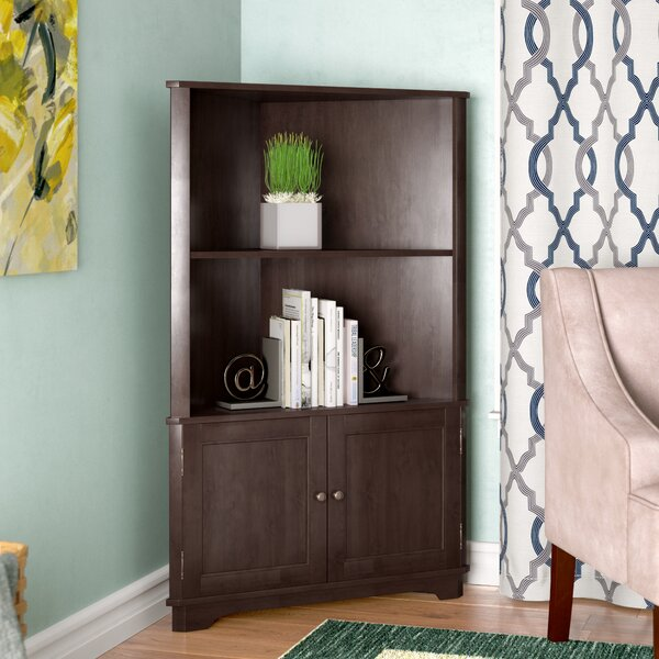 Vas Corner Unit Bookcase by Red Barrel Studio
