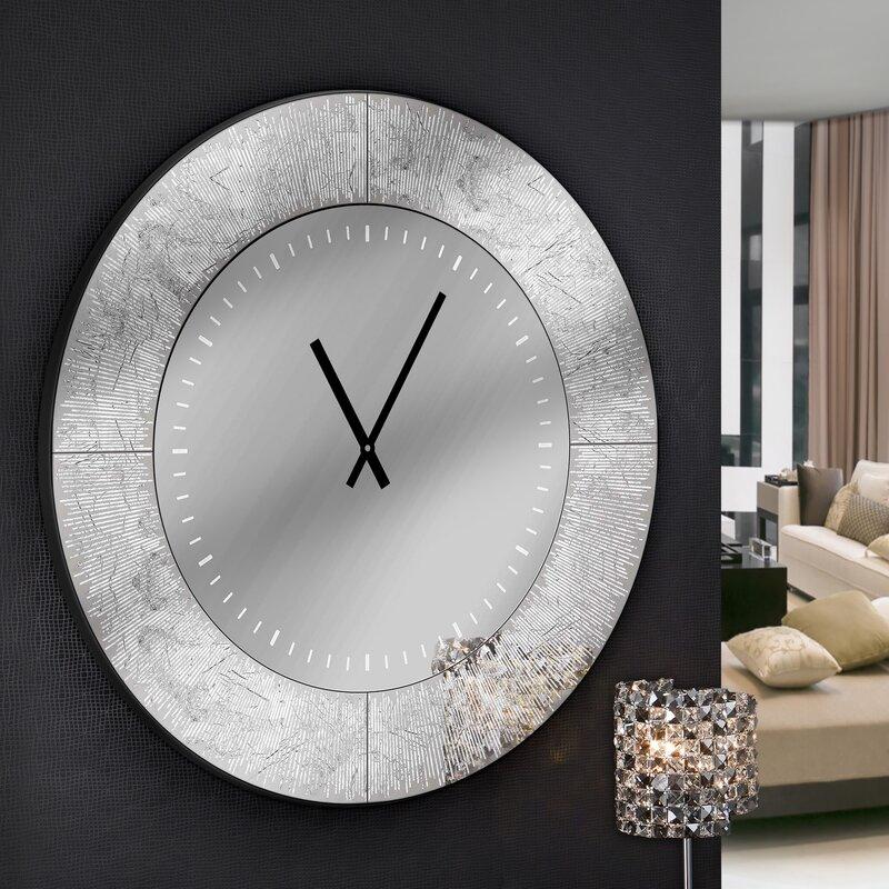 schuller analoge wanduhr aurora xxl 80 cm bewertungen. Black Bedroom Furniture Sets. Home Design Ideas