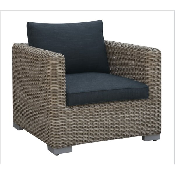 Harvey Outdoor Arm Chair with Cushion by A&J Homes Studio