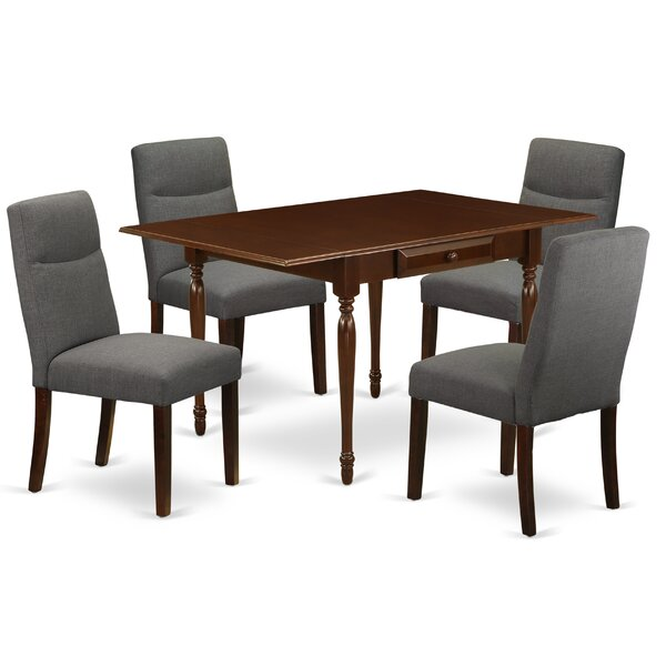 Chilmark Drop Leaf Solid Wood Dining Set By Ophelia & Co.