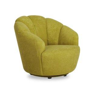 Giovanna Swivel Barrel Chair by Wade Logan