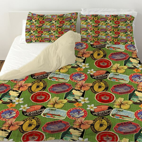 Aloha Duvet Cover by Manual Woodworkers & Weavers
