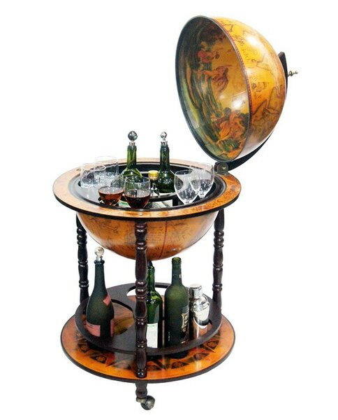 Napoli Bar Globe by Charlton Home Charlton Home