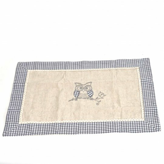 Pasley Linen Owl Placemat by August Grove