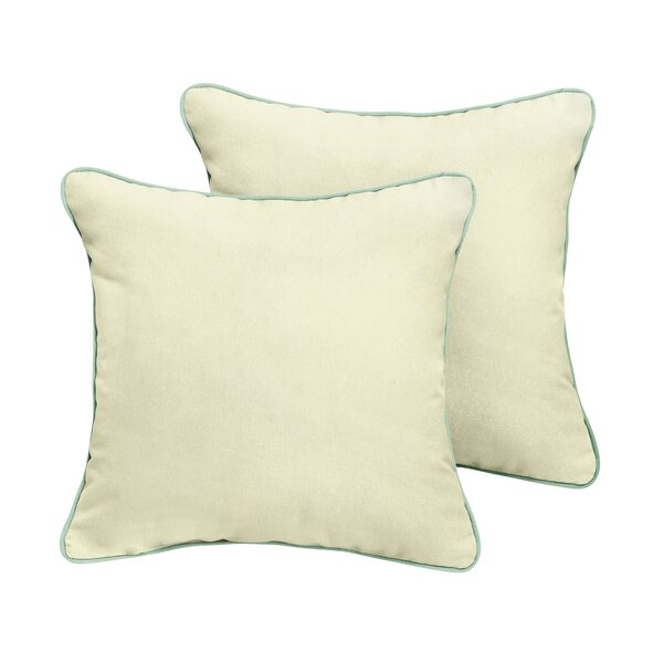Cruz Sunbrella Outdoor Throw Pillow (Set of 2) by Red Barrel Studio