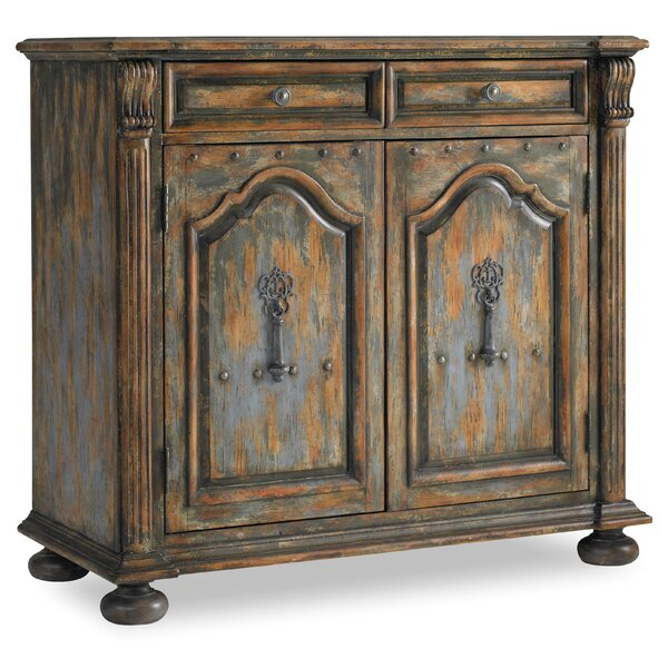 Wakefield 2 Door 2 Drawer Accent Cabinet with Bun Feet by Hooker Furniture